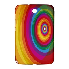 Circle Rainbow Color Hole Rasta Samsung Galaxy Note 8 0 N5100 Hardshell Case  by Mariart