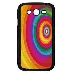 Circle Rainbow Color Hole Rasta Samsung Galaxy Grand Duos I9082 Case (black) by Mariart