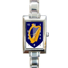 Coat Of Arms Of Ireland Rectangle Italian Charm Watch by abbeyz71