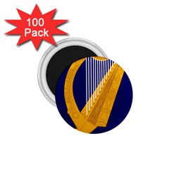Coat Of Arms Of Ireland 1 75  Magnets (100 Pack)  by abbeyz71