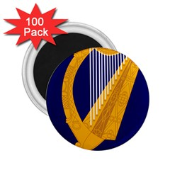 Coat Of Arms Of Ireland 2 25  Magnets (100 Pack)  by abbeyz71
