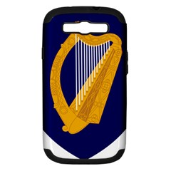 Coat Of Arms Of Ireland Samsung Galaxy S Iii Hardshell Case (pc+silicone) by abbeyz71