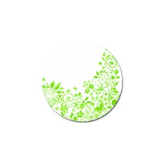Butterfly Green Flower Floral Leaf Animals Golf Ball Marker (10 Pack) by Mariart