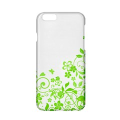 Butterfly Green Flower Floral Leaf Animals Apple Iphone 6/6s Hardshell Case by Mariart