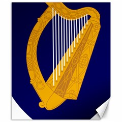 Coat Of Arms Of Ireland Canvas 8  X 10  by abbeyz71