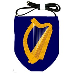 Coat Of Arms Of Ireland Shoulder Sling Bags by abbeyz71