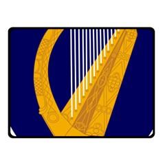 Coat Of Arms Of Ireland Fleece Blanket (small) by abbeyz71