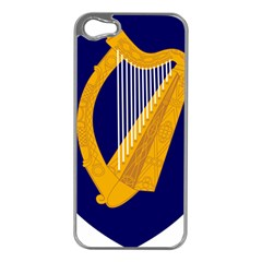 Coat Of Arms Of Ireland Apple Iphone 5 Case (silver) by abbeyz71