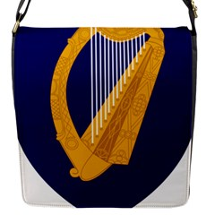 Coat Of Arms Of Ireland Flap Messenger Bag (s) by abbeyz71