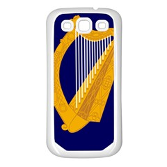 Coat Of Arms Of Ireland Samsung Galaxy S3 Back Case (white) by abbeyz71