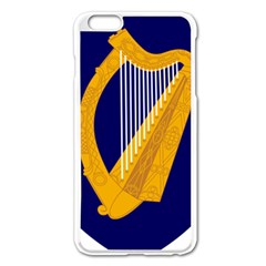 Coat Of Arms Of Ireland Apple Iphone 6 Plus/6s Plus Enamel White Case by abbeyz71