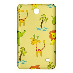 Cute Animals Elephant Giraffe Lion Samsung Galaxy Tab 4 (8 ) Hardshell Case  by Mariart