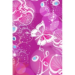 Flower Butterfly Pink 5 5  X 8 5  Notebooks by Mariart