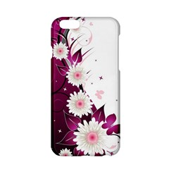 Flower Purple Sunflower Star Butterfly Apple Iphone 6/6s Hardshell Case by Mariart