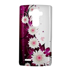 Flower Purple Sunflower Star Butterfly Lg G4 Hardshell Case by Mariart