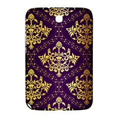 Flower Purplle Gold Samsung Galaxy Note 8 0 N5100 Hardshell Case  by Mariart