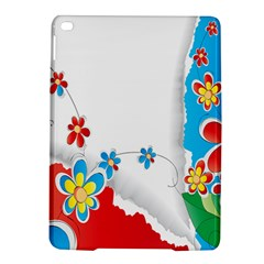 Flower Floral Papper Butterfly Star Sunflower Red Blue Green Leaf Ipad Air 2 Hardshell Cases by Mariart