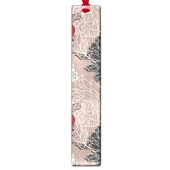 Flower Rose Red Black White Large Book Marks by Mariart