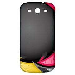 Hole Circle Line Red Yellow Black Gray Samsung Galaxy S3 S Iii Classic Hardshell Back Case by Mariart