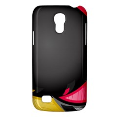 Hole Circle Line Red Yellow Black Gray Galaxy S4 Mini by Mariart