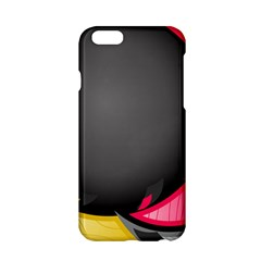 Hole Circle Line Red Yellow Black Gray Apple Iphone 6/6s Hardshell Case by Mariart