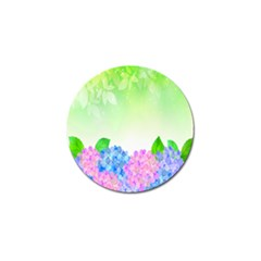 Fruit Flower Leaf Golf Ball Marker (4 Pack) by Mariart