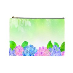 Fruit Flower Leaf Cosmetic Bag (large)  by Mariart