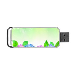 Fruit Flower Leaf Portable Usb Flash (two Sides) by Mariart
