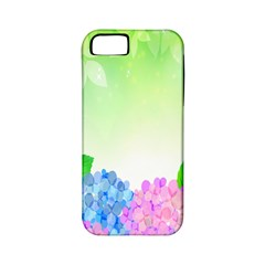 Fruit Flower Leaf Apple Iphone 5 Classic Hardshell Case (pc+silicone) by Mariart