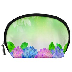 Fruit Flower Leaf Accessory Pouches (large)  by Mariart