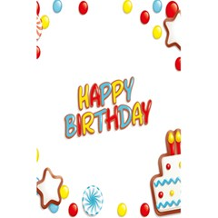 Happy Birthday 5 5  X 8 5  Notebooks by Mariart
