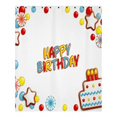 Happy Birthday Shower Curtain 60  X 72  (medium)  by Mariart
