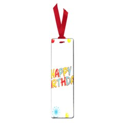 Happy Birthday Small Book Marks by Mariart