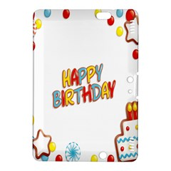 Happy Birthday Kindle Fire Hdx 8 9  Hardshell Case by Mariart