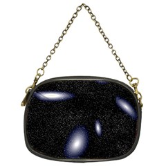 Galaxy Planet Space Star Light Polka Night Chain Purses (one Side)  by Mariart
