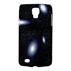 Galaxy Planet Space Star Light Polka Night Galaxy S4 Active by Mariart