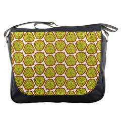 Horned Melon Green Fruit Messenger Bags by Mariart