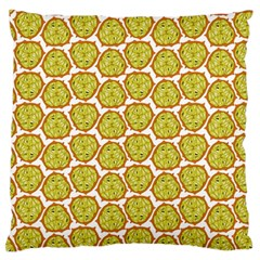 Horned Melon Green Fruit Standard Flano Cushion Case (one Side) by Mariart