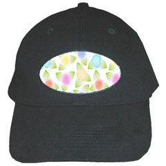Fruit Grapes Purple Yellow Blue Pink Rainbow Leaf Green Black Cap by Mariart