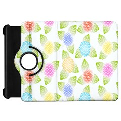 Fruit Grapes Purple Yellow Blue Pink Rainbow Leaf Green Kindle Fire Hd 7  by Mariart