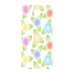 Fruit Grapes Purple Yellow Blue Pink Rainbow Leaf Green Samsung Galaxy Alpha Hardshell Back Case by Mariart