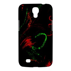 Paint Black Red Green Samsung Galaxy Mega 6 3  I9200 Hardshell Case by Mariart