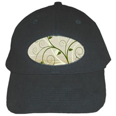Leaf Sexy Green Gray Black Cap by Mariart