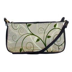 Leaf Sexy Green Gray Shoulder Clutch Bags by Mariart