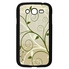 Leaf Sexy Green Gray Samsung Galaxy Grand Duos I9082 Case (black) by Mariart