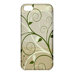 Leaf Sexy Green Gray Apple Iphone 5c Hardshell Case by Mariart