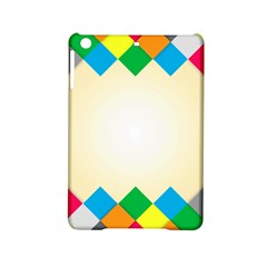 Plaid Wave Chevron Rainbow Color Ipad Mini 2 Hardshell Cases by Mariart