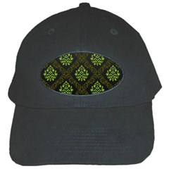 Leaf Green Black Cap by Mariart