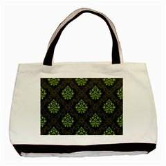 Leaf Green Basic Tote Bag by Mariart