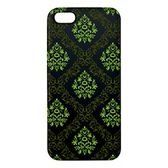 Leaf Green Iphone 5s/ Se Premium Hardshell Case by Mariart